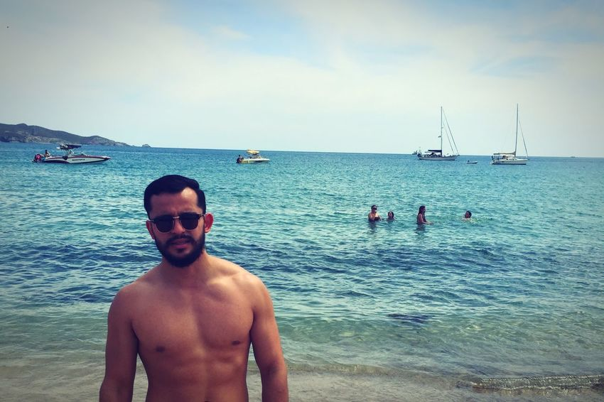 Beach Relaxing Sonora San Carlos Beard