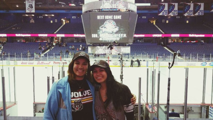 Chicago Wolves Hockey Game Hell Of A Night
