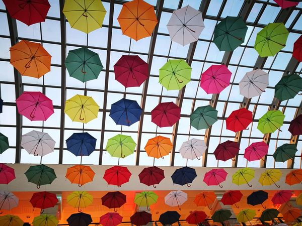Rainbow umberellas Umberella Umberellas Rainbow Rainbow Umbrella Colors Colorful Arenamall Bacau Romania Hanging Out Taking Photos Check This Out Hello World Enjoying Life Capture The Moment Enjoying Photography Capture Vibes View Colour Of Life The Magic Mission