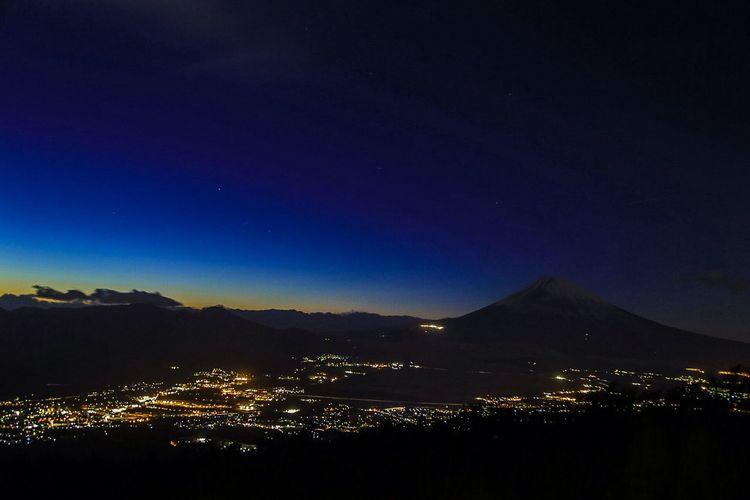 Nightphotography Landscape_Collection Mt.Fuji Twilight