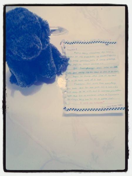 From Woobie :)) Beanie Love Letters Christmas Presents  Toys