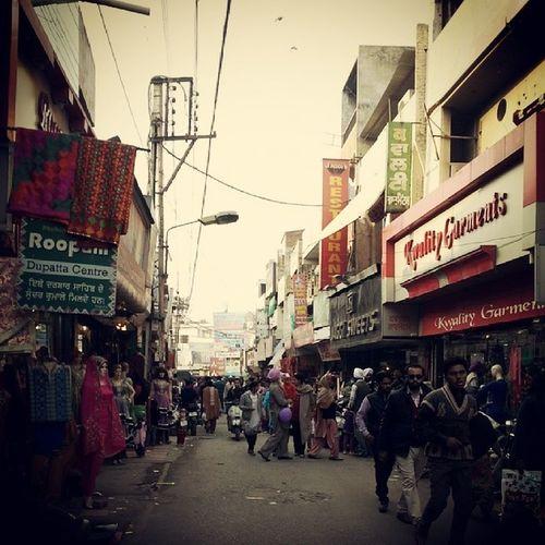 The bazaar. Instagram Instagood People Photooftheday instaclick instacool patiala india in outdoors winters shopping