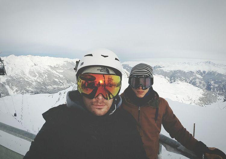 Chilling Meribel France Alpes Skiing Ski Snow