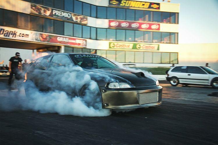 Honda Honda Civic Drag Racing Burnout Turbo SFWD K-series
