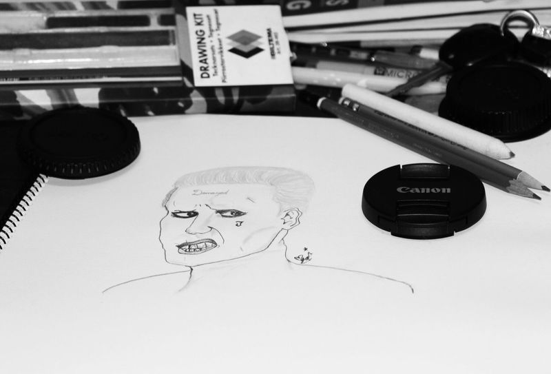 Portrait SuicideSquad Joker Art Taking Photos Photo Of The Day My Hobby :) Art, Drawing, Creativity