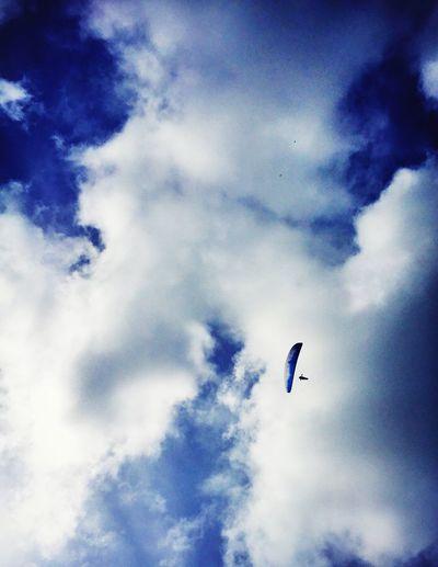 Paragliding sky