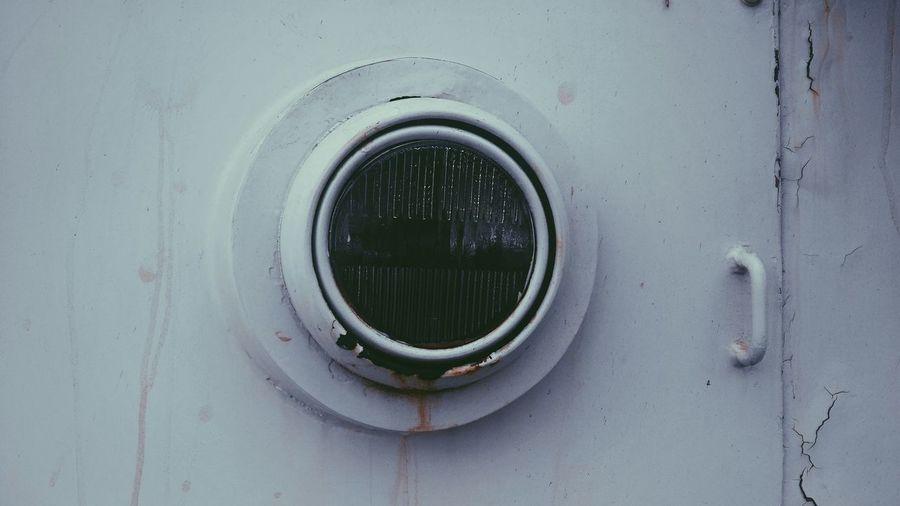 Close up of circular