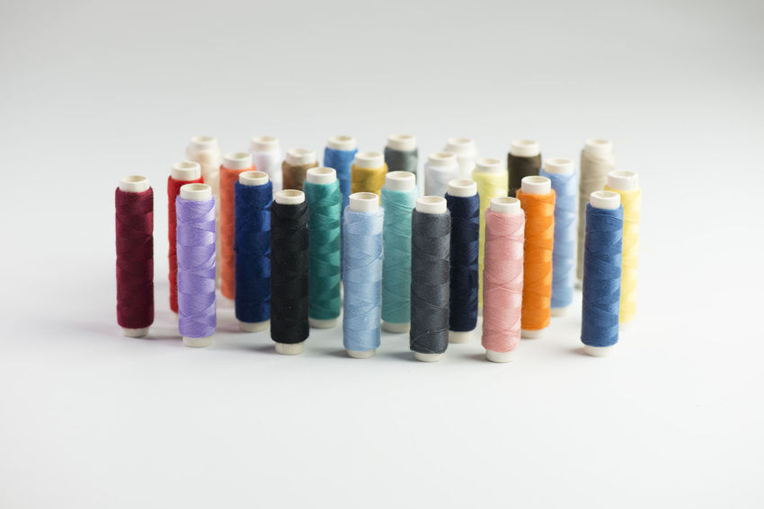 Sewing Thread accessories for the Tailoring profession Colors Fashion Knitting Scissors Tailoring Clothing Colorful Handmade Hobby Material Needle Seamstress Sewing Accessories Sewing Material Textile Thread Spool Wool Yarn