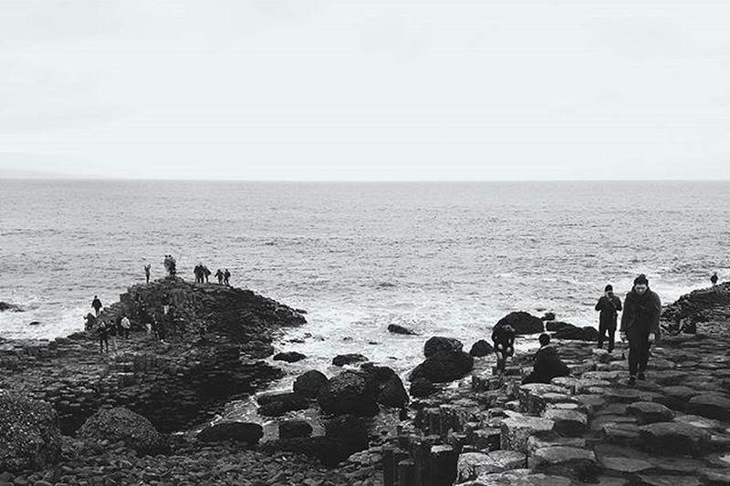 And then I woke up Ireland Northernireland Northern Uk Europe Europeanunion Travel Ig_europe Igtravel Travelgram Vscocam Coen Monochrome Geology VSCO Vscophile Pixelpanda GiantsCauseway Vscocam Filterra @selfie_filterra