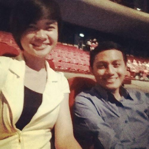 Y with @bevslubid Cinemalaya