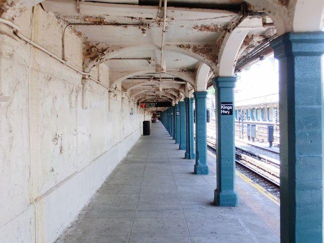 Corridor NYC Subway Metro Station Kings Highway New York City USA EyeEmNewHere