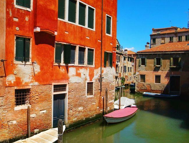 Venice serie Island Little Boat Venice, Italy Old Buildings Architecture Building Historical Building Venice Venezia Boat