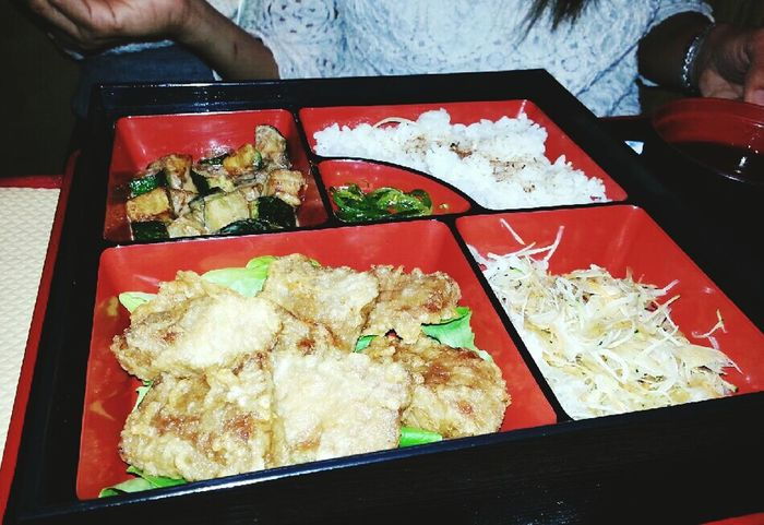 Menu Japonais hoka hoka bento with fish