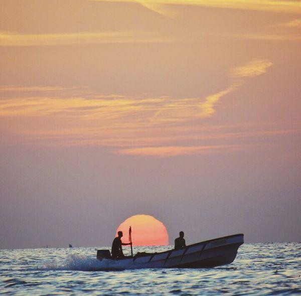 Sunrising Sea Relaxing Oman History