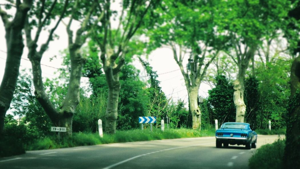 Vintage Cars Car Mustang Provence Les Baux De Provence Le Luberon On The Road