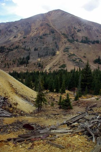 Mountain Landscape Mining History Of America Mining Heritage Colorado Photography Colorado Ghosttowns Mining