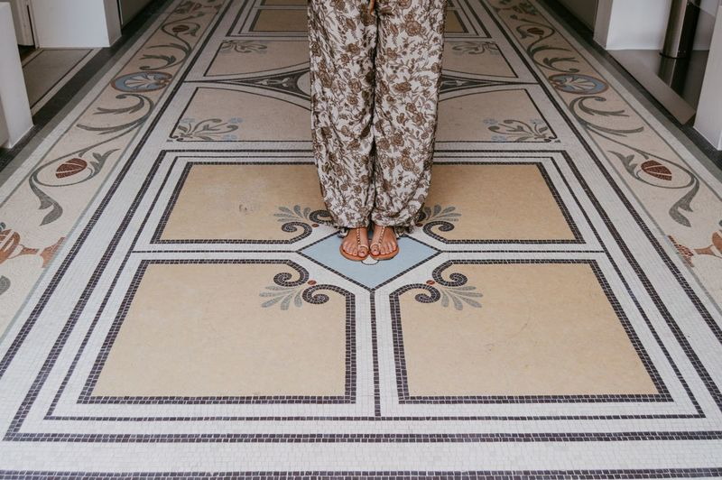 Patterns and feet Indoors  Architecture Symmetry Mosaic History Museum Pattern Built Structure Tile Day Geometry Women Who Inspire You Young Adult Young Women Standing Been There. Done That. The Week On EyeEm