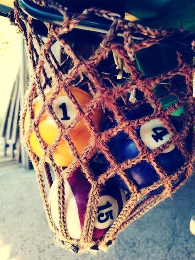 Close-up No People Day Indoors  Summer Tranquility Billard Table Billard Ball Billard Corse Girolata