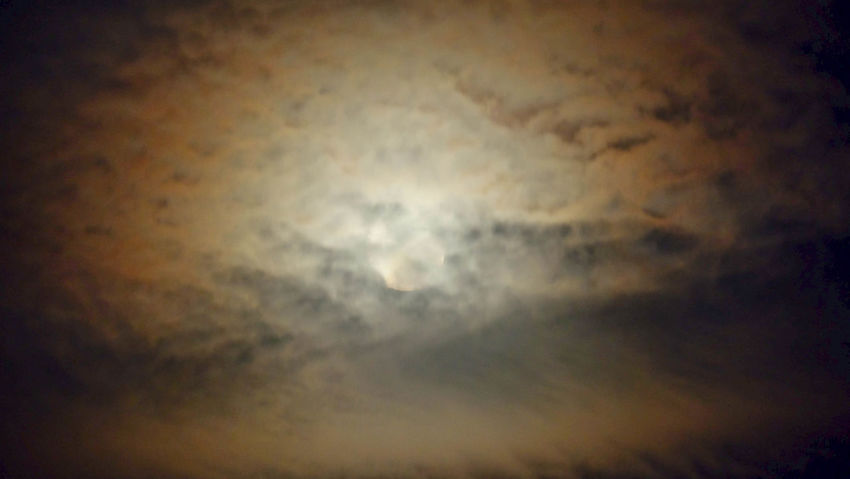 Astronomy Backgrounds Beauty In Nature Cloud - Sky Dark Full Moon Low Angle View Moon Moonlight Nature Night No People Outdoors Planetary Moon Scenics - Nature Sky Space Space Exploration Tranquil Scene Tranquility Vignette