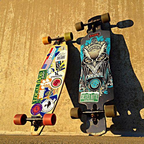 Colorado Longboard Longboarding Originalskateboard Sector9 Shadows Skateboarding Street Sunlight