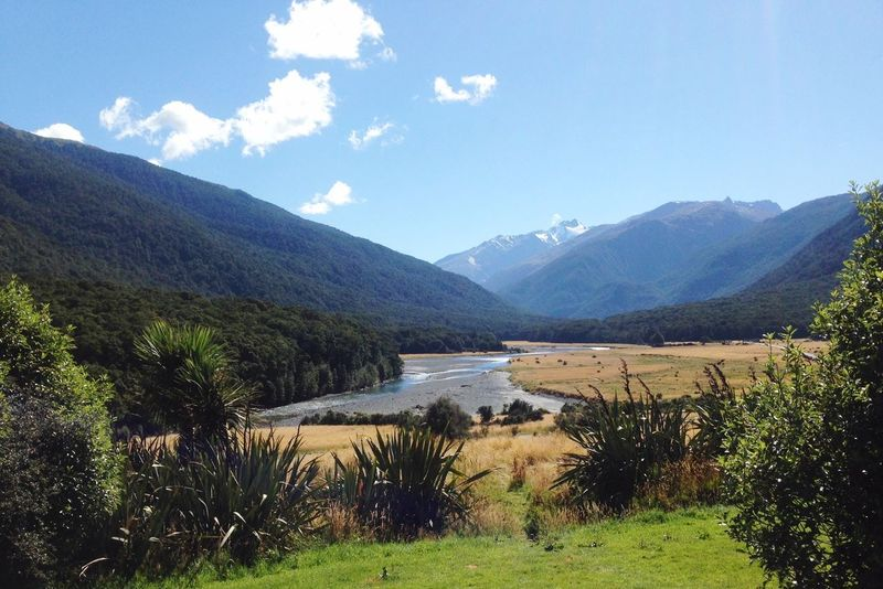 Magnificent Mountains Hello World Enjoying Life Hanging Out Check This Out Nature On Your Doorstep Nature In All Its Glory At The End Of The World Enjoying The View Rural Countryside Haast Pass, South Island, New Zealand