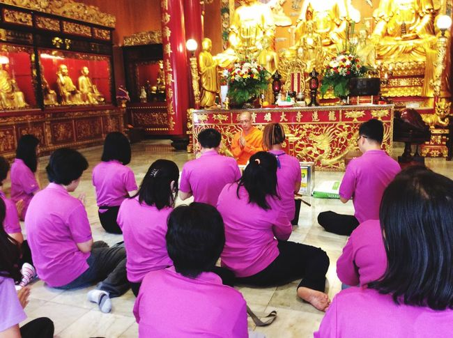 Collected Community we are persons who was born in June. In our belief, we will go to pray and donate at the temple for birthday. So we went the same day in June. After that, the monk gave blessing and teaching Buddhism for real life. Mrta Birthday Program Coworkers Hello World Eye Em Around The World Buddhism Buddhist Blessed