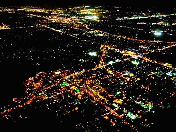 Showcase June Orlando Plane View Nightphotography Night Lights Interesting Perspectives United States On The Way Color Palette Colour Of Life Battle Of The Cities Beautifully Organized