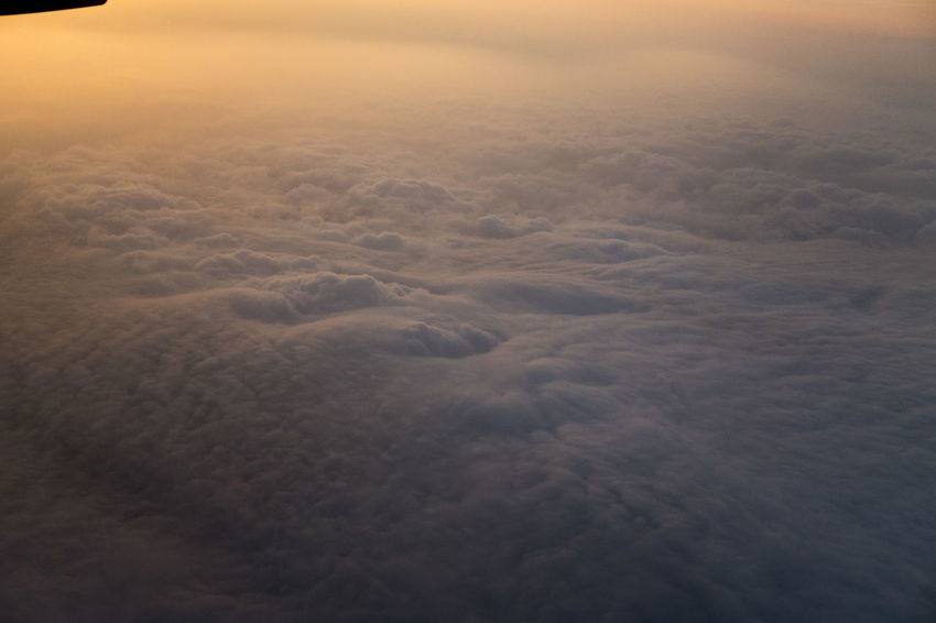 Aerial View Beauty In Nature Cloud - Sky Cloudscape Day Dramatic Sky Environment Fluffy High Angle View Idyllic Meteorology Motion Nature No People Outdoors Scenics - Nature Sky Softness Sunset Tranquil Scene Tranquility