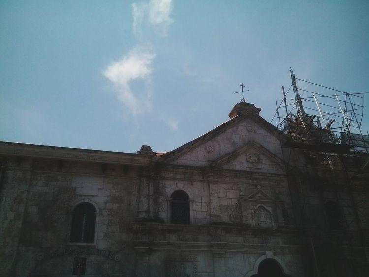 Eyeem Philippines Philippines Cebu Cebu City Church Take Me To Church EyeEm Best Shots EyeEm Gallery Sky