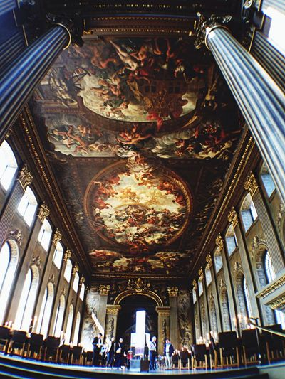 Painted Hall - Old Royal Naval College In The Mean Time EyeEm London Meetup