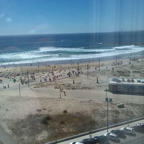 A ver a costa de cima, lindo! VistaLinda HotelCostadaCaparica Costadacaparica Portugal
