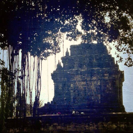 There is always a mysterious side of temple! Temple Building Budhist Ancient