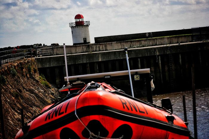Check This Out Taking Photos Bury Port Harbour Lifeboat RNLI