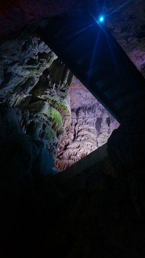 Vacations Travel Destinations SPAIN No People High Angle View Cave Caves Caverns Caves Photography Gibraltar Gibraltar Views Shadows & Lights Shadowplay Staligtights Stalagmite Nature Natural Pattern
