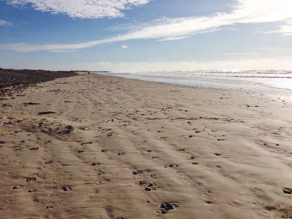 Place de Tronoan Beach Sand Sea Nature Sky Scenics Landscape Empty Photographers On Tumblr