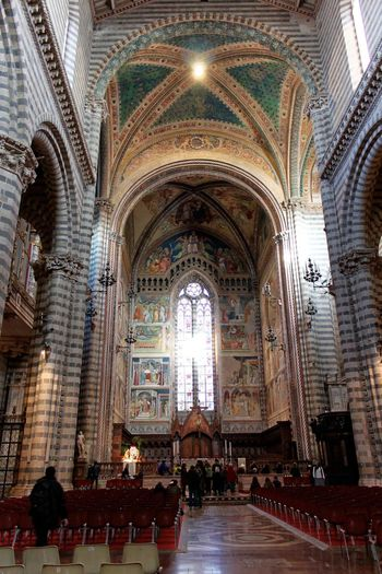 Orvieto, Italy Travel Travel Photography Traveling Arch Architecture Built Structure Day Hill Towns Indoors  Italian Italy Orvieto People Pew Place Of Worship Real People Religion Spirituality Travel Destinations