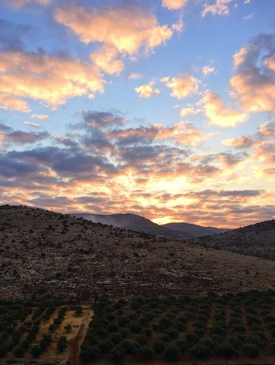 First light Sky Beauty In Nature Tranquil Scene Nature Landscape Tranquility Scenics Mountain Sunset Cloud - Sky No People Mountain Range Outdoors Day