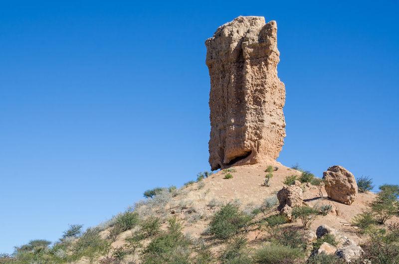 Fingerklip Mountain Landscape Scenery African Africa Nature Rock Formation Namibia Rock