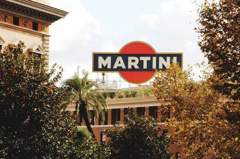 Drinks Rom Martini CityTour Tree Text Architecture Building Exterior Communication Built Structure Low Angle View Day Moving Around Rome Adventures In The City #FREIHEITBERLIN