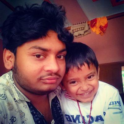 With Little bro....... Selfietime SukuNDipu 💏 Lumiaselfie