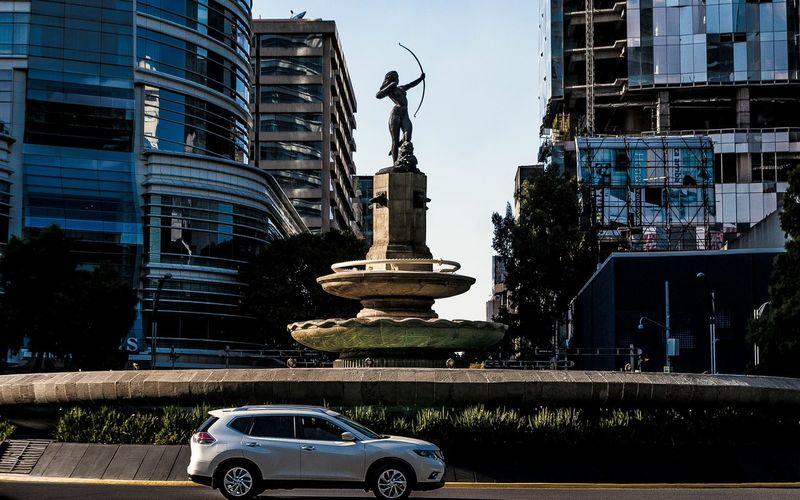 Urban Urban Landscape Diana Cazadora Insurgentes Golden Hour Transitional Moments 2015  Fotowalk Mexico City