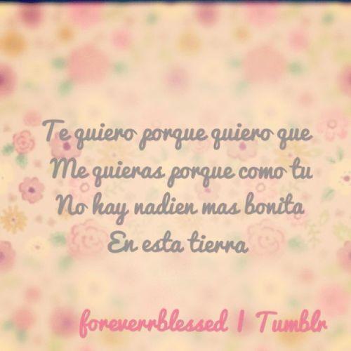 ♥¡Te Quiero PorQue Quiero Que Me Quieras PorQue Como Tu No Hay Nadie Mas Bonita En Tierra!♥ RachelDeGómez♥ Diegodesilva ♥