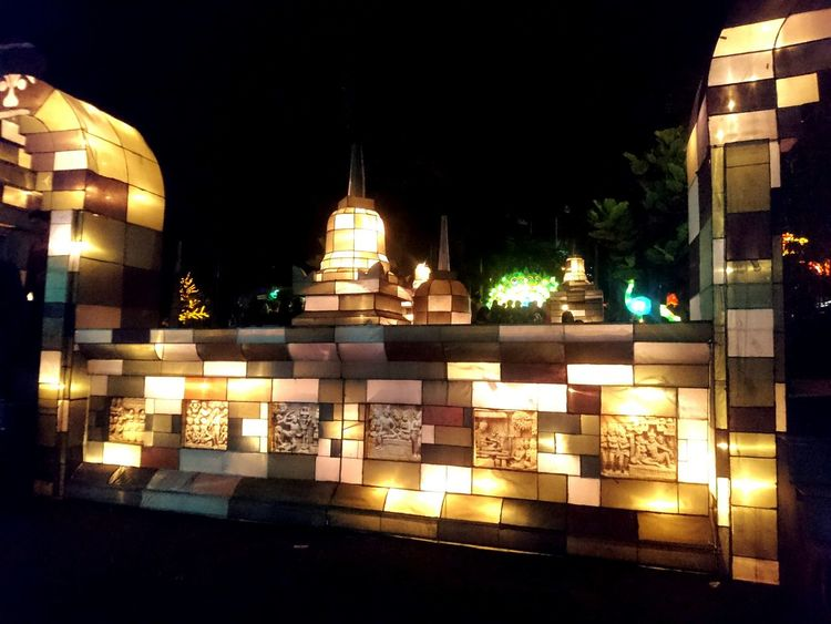 Kaliurang Yogyakarta, Indonesia Yogyakarta Story Yogya Istimewa Yogyakarta Photography Yogyakarta Festival Festival Of Lights 2016 Outdoors No People Illuminated Night Travel Destinations
