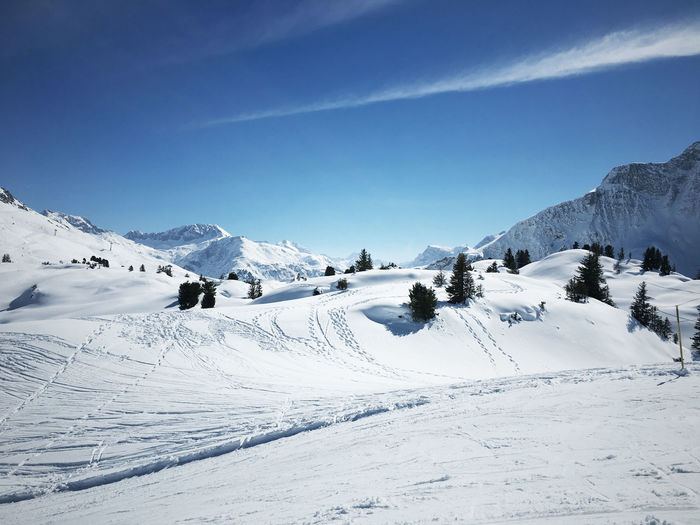 Beauty In Nature Landscape Mountain No People Outdoors Ski Snow Warth Winter
