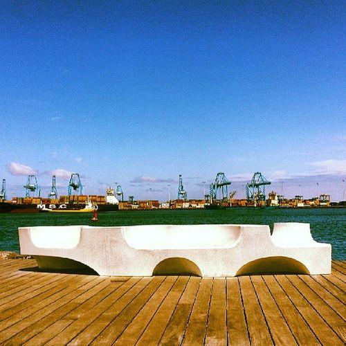 The sea Sea GranCanaria Puertoslaspalmas Topics sun canaryisland rcnlpcg port harbour seaport