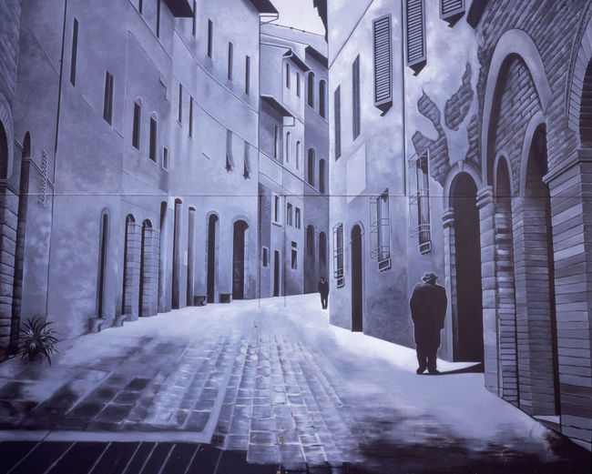 wall art Wall Art Mural City Winter Cold Temperature Snow Place Of Worship Architecture Building Exterior Built Structure