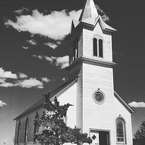 Legends Vintage Church Blackandwhite 1800s Building 1800s Kansas