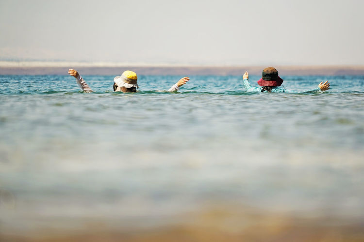 Close-up Day Dead Sea  Horizontal Nature No People Outdoors Togetherness Water