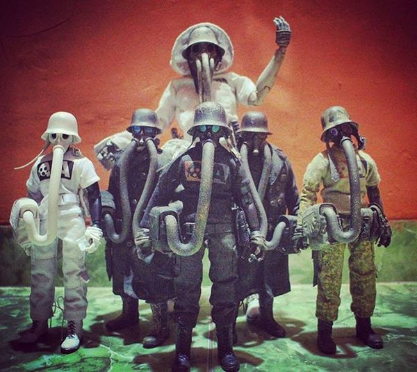 Gas mask crew 😊 3a 3ago 3alegioninsta 3alegion Worldwarrobot Worldofthreea Blanchunter Nomcommander Jungdeplume Duodeplume Noirdeplume Toygrapyhid Toysphotogram Toygraph Toysfirst Toysgram Toysportal