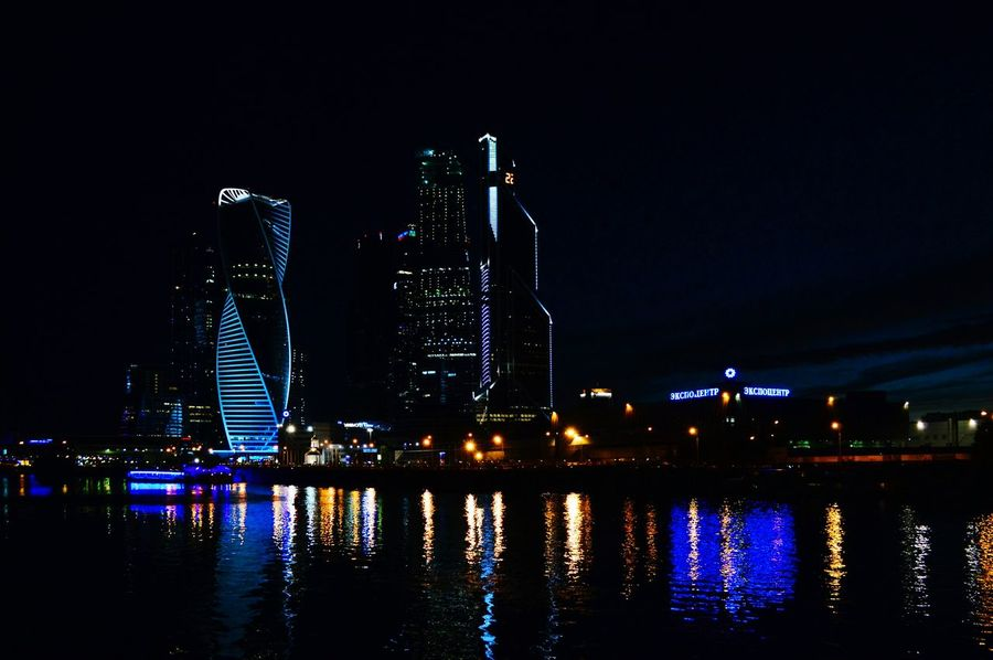 Moscow Moscowcity Night Nightphotography Enjoying Life Nikon Nikonphotography Nikon D3200 Nikontop Night View Taking Photos Night Colors Night Collection Hello World Amazing View
